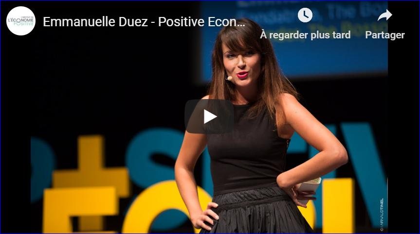 Positive Economy – Évoluer dans l'enthousiasme avec la génération Y !