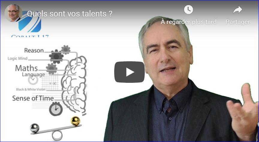Quel est votre talent ?